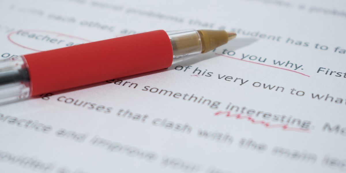 Top 10 Reasons Why You Need a Copy Editor